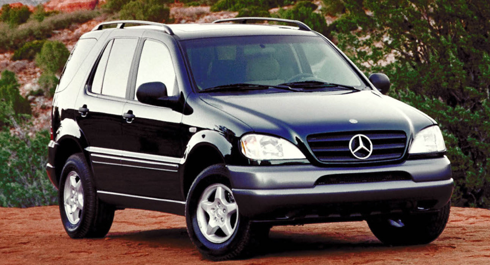 20 years ago mercedes benz virtually invented the luxury for Mercedes benz cross over