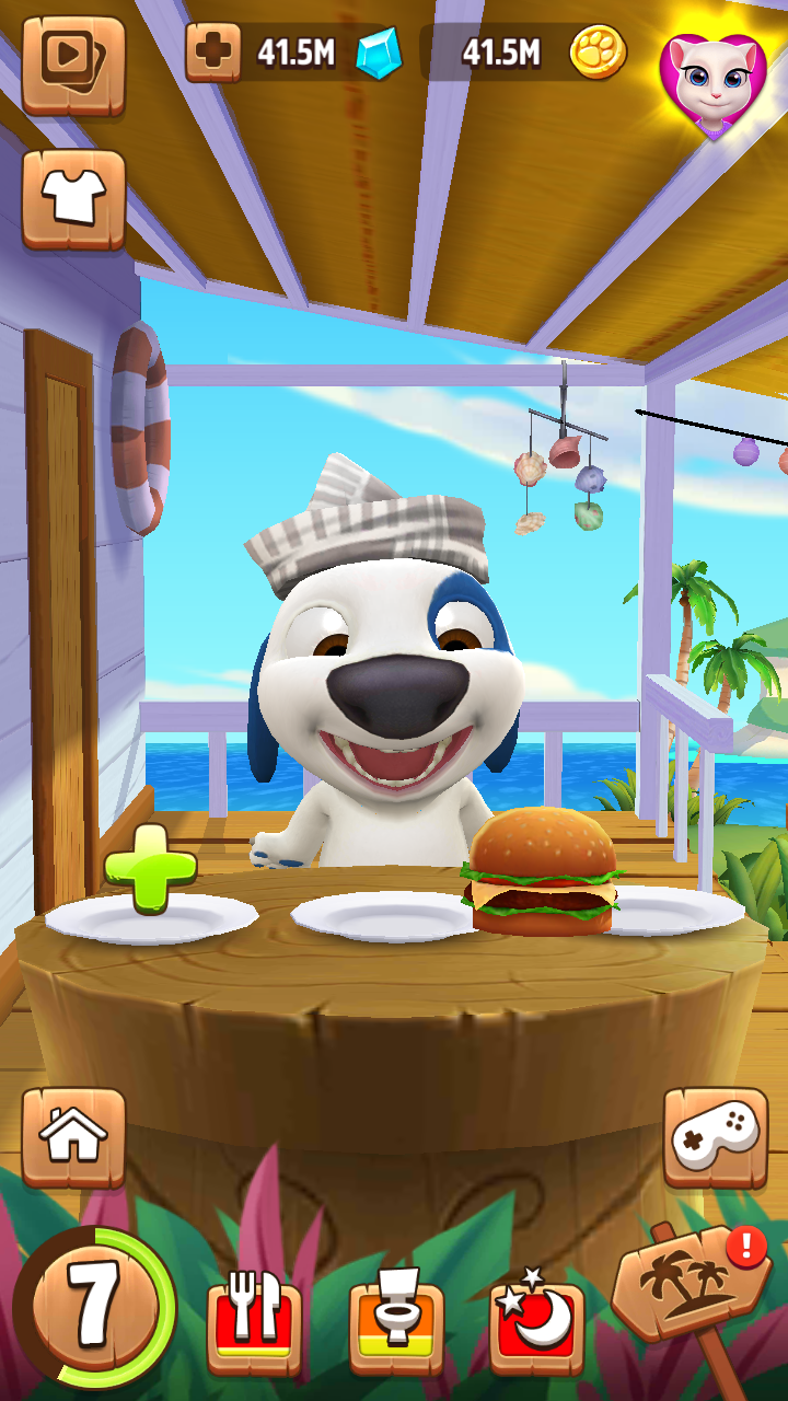 My Talking Hank Mod: 100% working on 1,079 devices, voted by 412, developed by Outfit7 Limited. Mod Money- Unlimited  Coins - UnlimitedIf you enjoy tamagotchi-style apps and kitty collector game mechanics you will fall in love with  My Talking Hank.★ FEATURESWelcome to Hawaii: Check out...