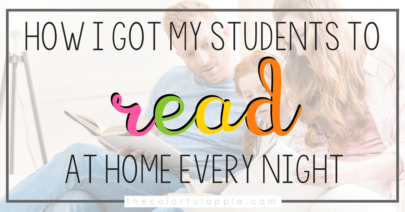 Getting students reading at home can be a challenge.  Here are some tips for getting families engaged in the reading process every night!