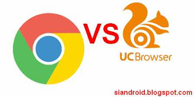 Chrome vs UCBrowser