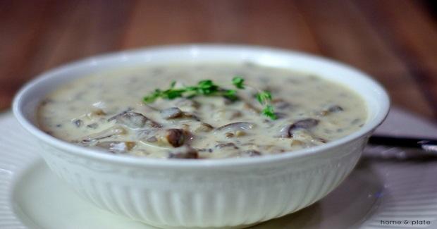 Wild Mushroom Soup Recipe
