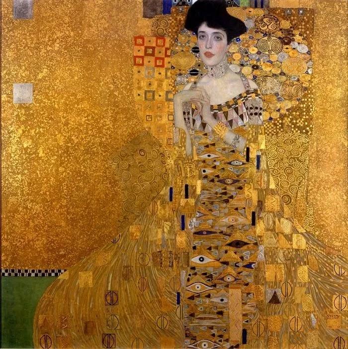 использование золота в искусстве