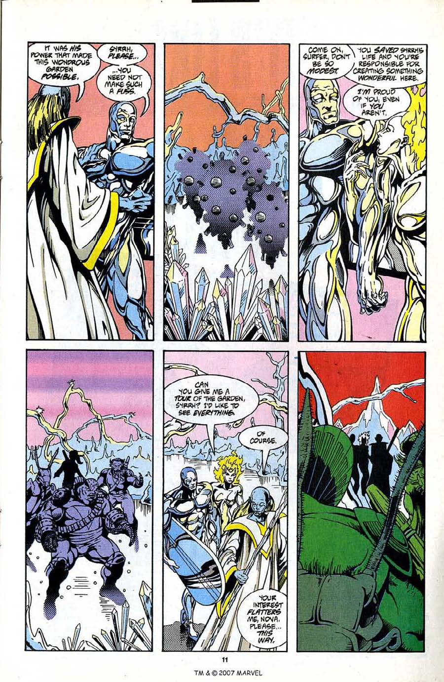 Read online Silver Surfer (1987) comic -  Issue #99 - 13