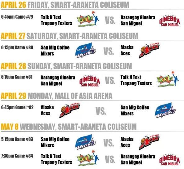 Basketball Hoops Zone PBA 2013 Commissioner\u0027s Cup Semis Schedule