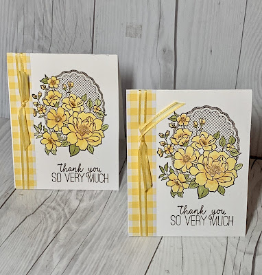 A free Sale-A-Bration pick with a $50 order makes a beautiful card