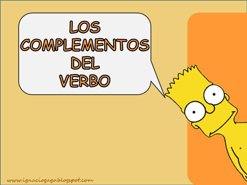 047fc014a734 Los complementos del verbo.