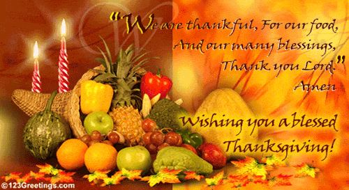 Wishing you a Happy Thanksgiving