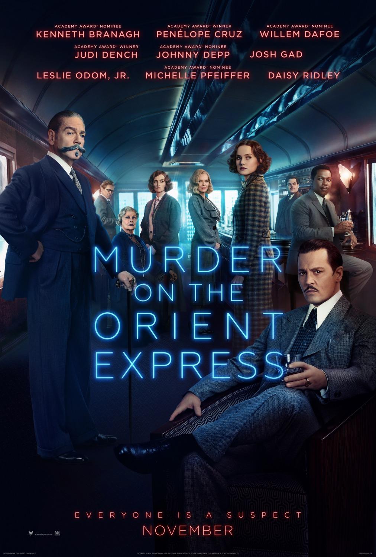 """trailer de """"Assassinato no Expresso Oriente""""lançamento de filme"""