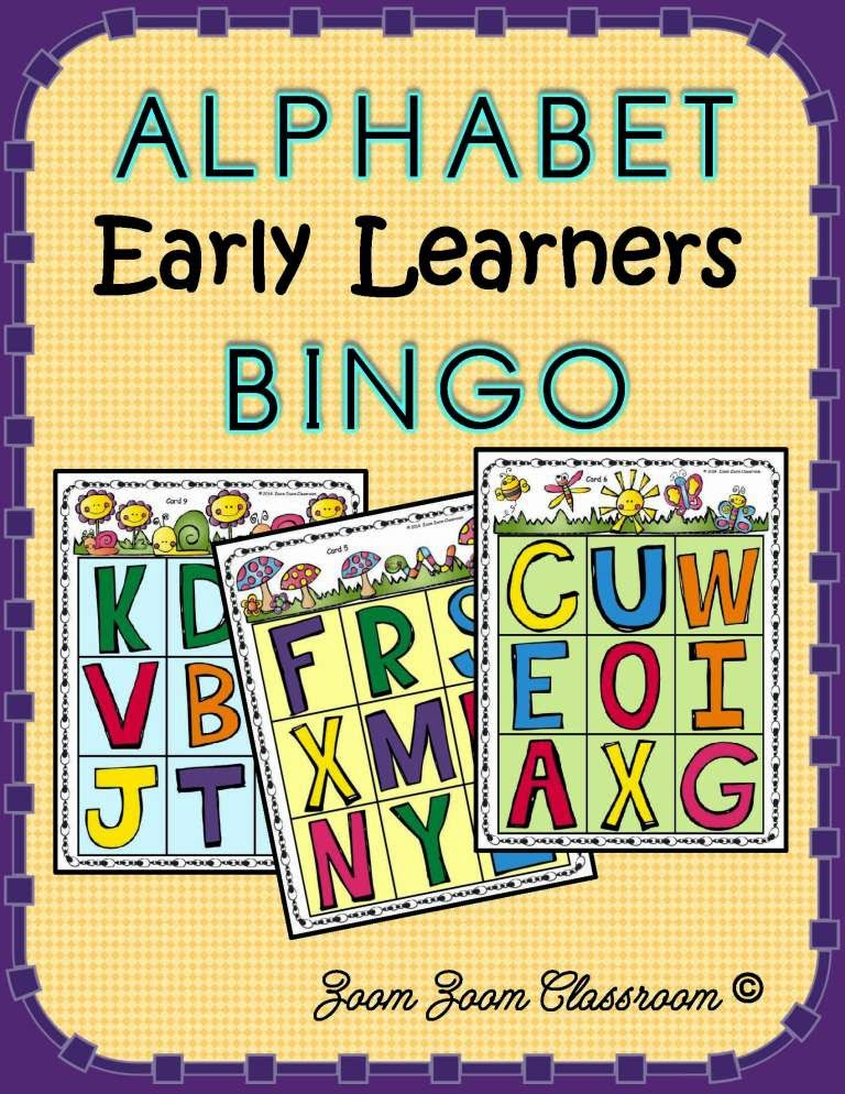 http://www.teacherspayteachers.com/Product/Alphabet-Bingo-For-Early-Learners-1125329