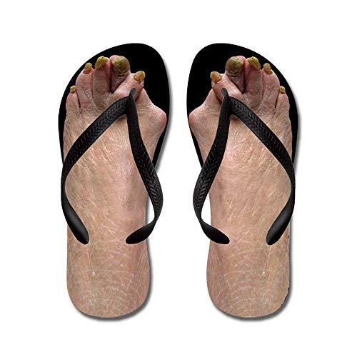 f5287642c7fd CafePress Ugly Feet Flip Flops