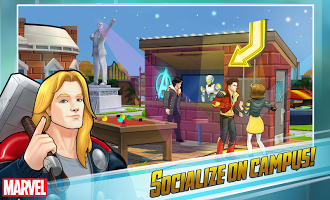 Screenshot: MARVEL Avengers Academy Apk