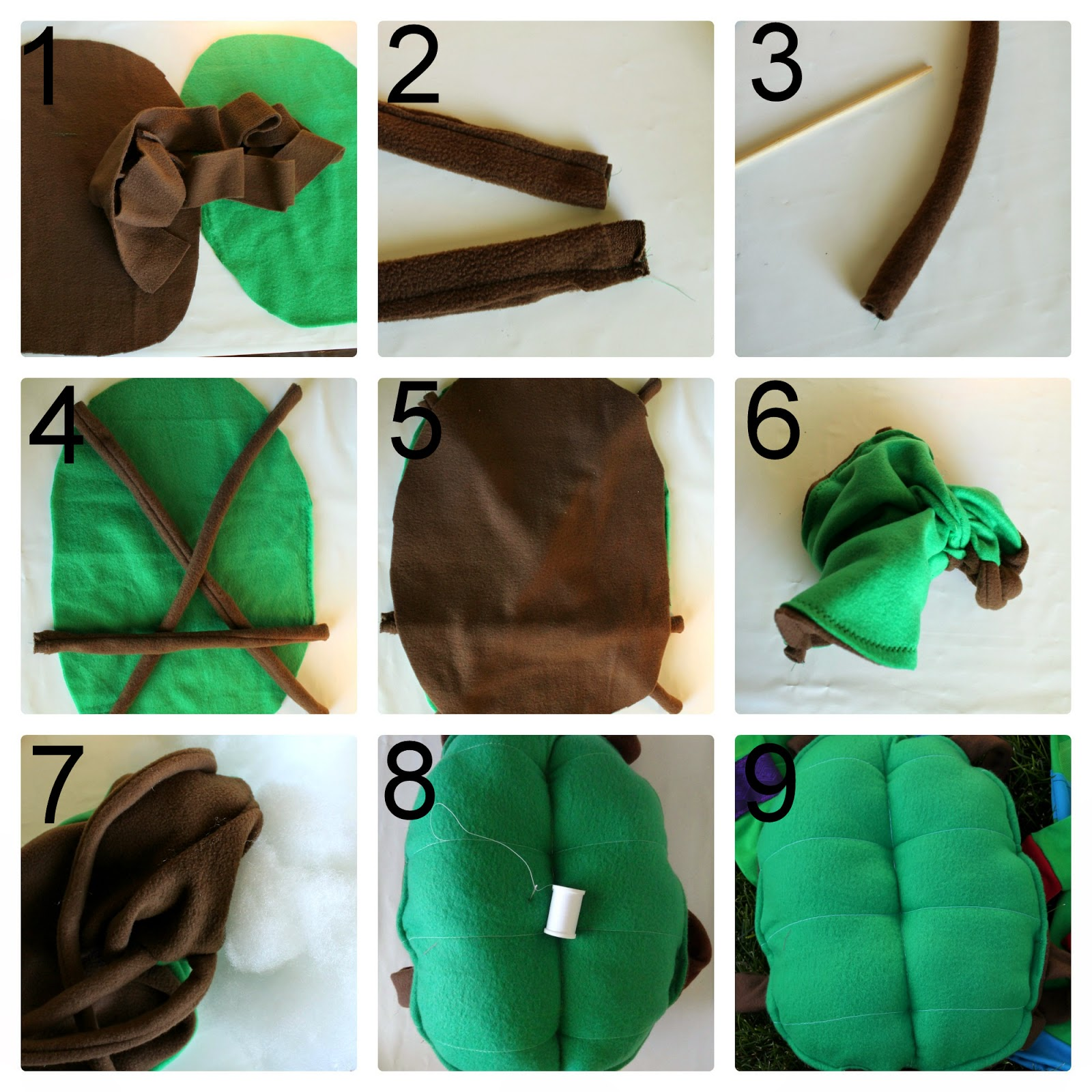 TMNT Shell Tutorial from GYCT Designs