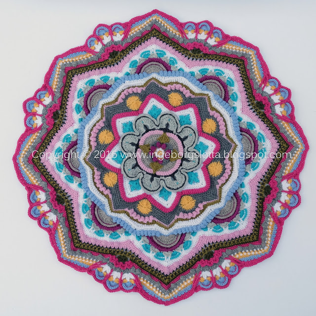 Mandala madness CAL 2016 part 8 crochet
