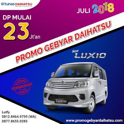 Promo Kredit Daihatsu Luxio Juli 2018
