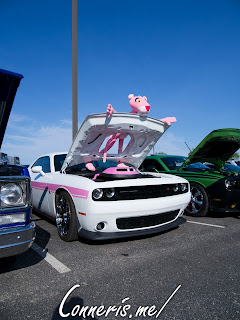 Dodge Challenger Pink Panther