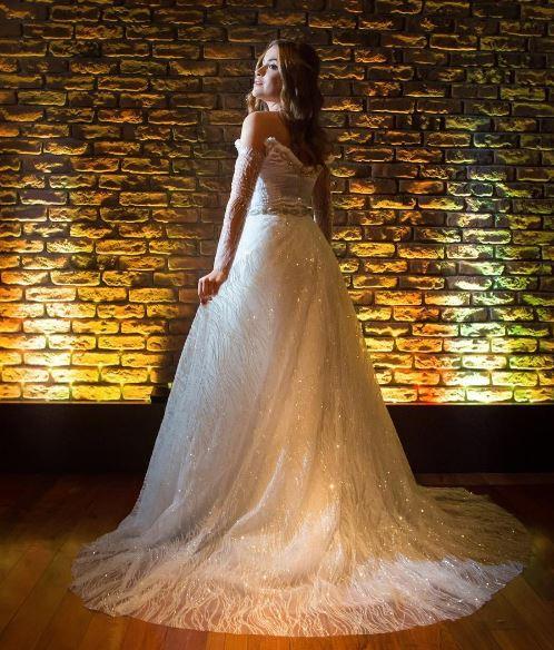Larissa Chaddad vestido valsa