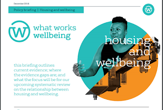 Front cover of the housing and wellbeing policy briefing available at https://whatworkswellbeing.org/2017/01/04/housing-and-wellbeing-special-focus/