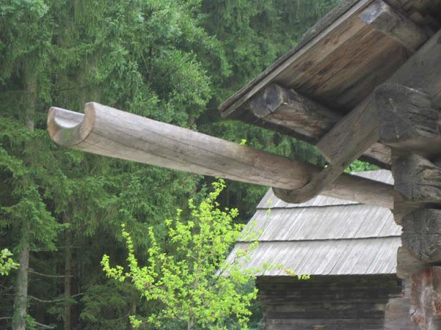 Martha S Vienna Old World Wooden Gutters