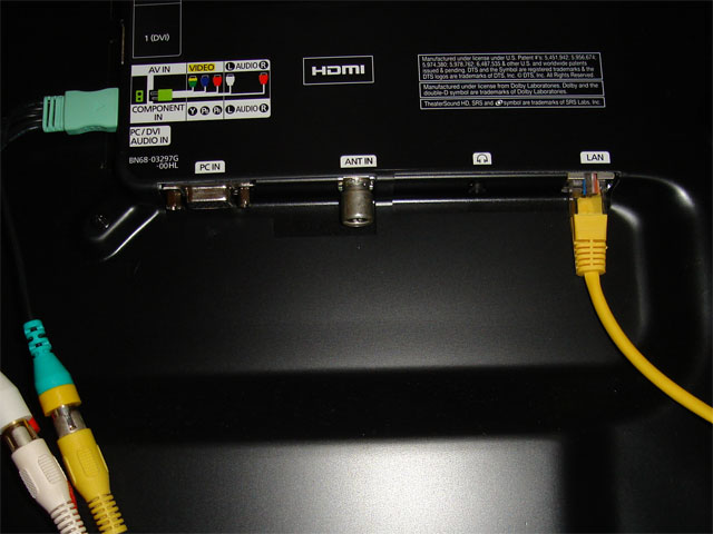 Samsung Led Tv Network Connection