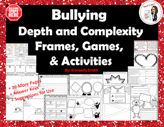 It's time to banish bullying!  Use this freebie to get your students on the path to acceptance, tolerance, and kindness.  Let's make a difference together!