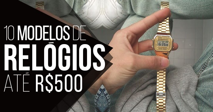 Macho Moda - Blog de Moda Masculina  RELÓGIOS MASCULINOS  10 Modelos  Animais até R 500 075abe55f2