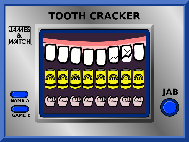 The Dreamcast Junkyard: New Homebrew Tooth Cracker Available Now