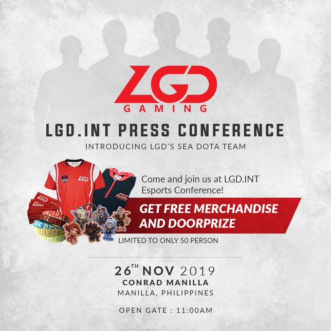 lgd sea team - LGD Gaming bất ngờ thành lập đội hình LGD.International 2.0