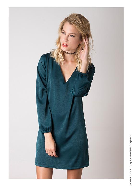 Moda invierno 2016 ropa de moda invierno vestidos Nuara. Moda 2016.