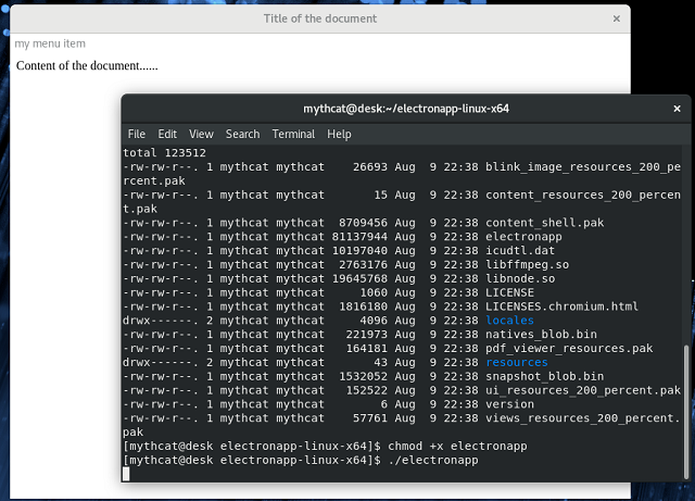 node js linux tutorial