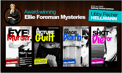 "Libby Fischer Hellmann's ELLIE FOREMAN Mystery Series on Kindle: Think ""<i><b>Desperate Housewives</b></i> meets <i><b>24</b></i>"""