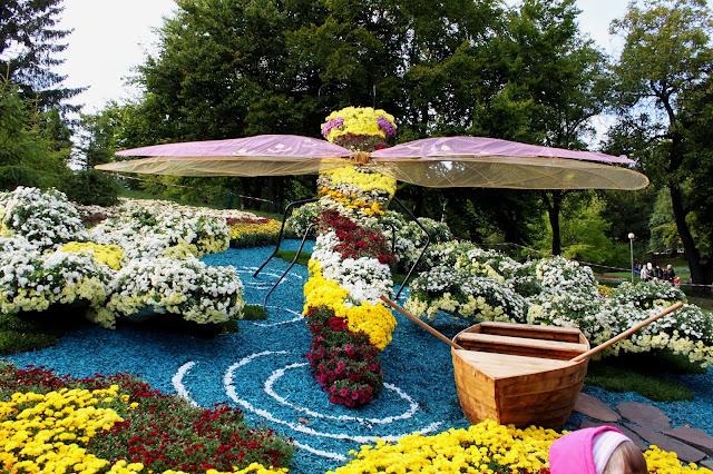 Выставка хризантем 2017 на Певческом поле