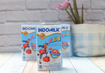 susu Indomilk UHT Kids Full Cream