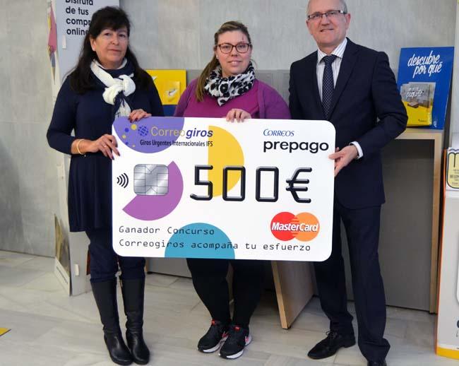 Correos premia con 500 a dos clientes de las oficinas de for Oficina correos cadiz