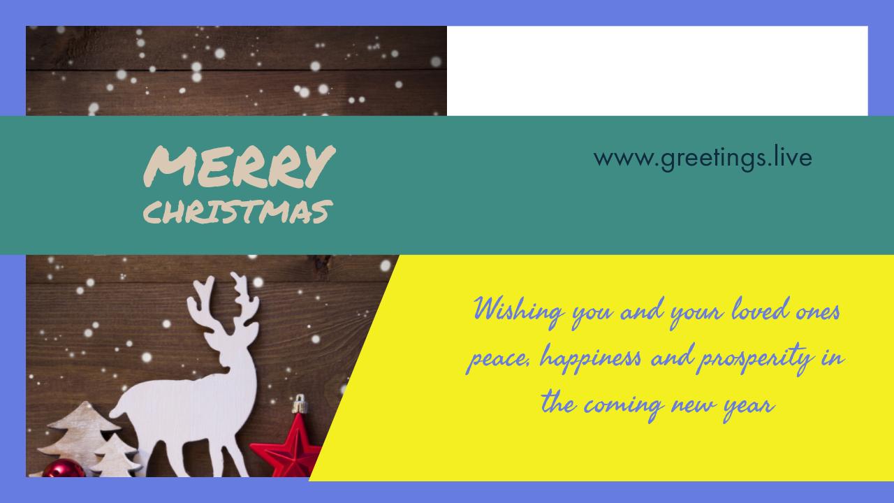 Greetingsve hd images love smile birthday wishes free download merry christmas greetings with deer kristyandbryce Gallery