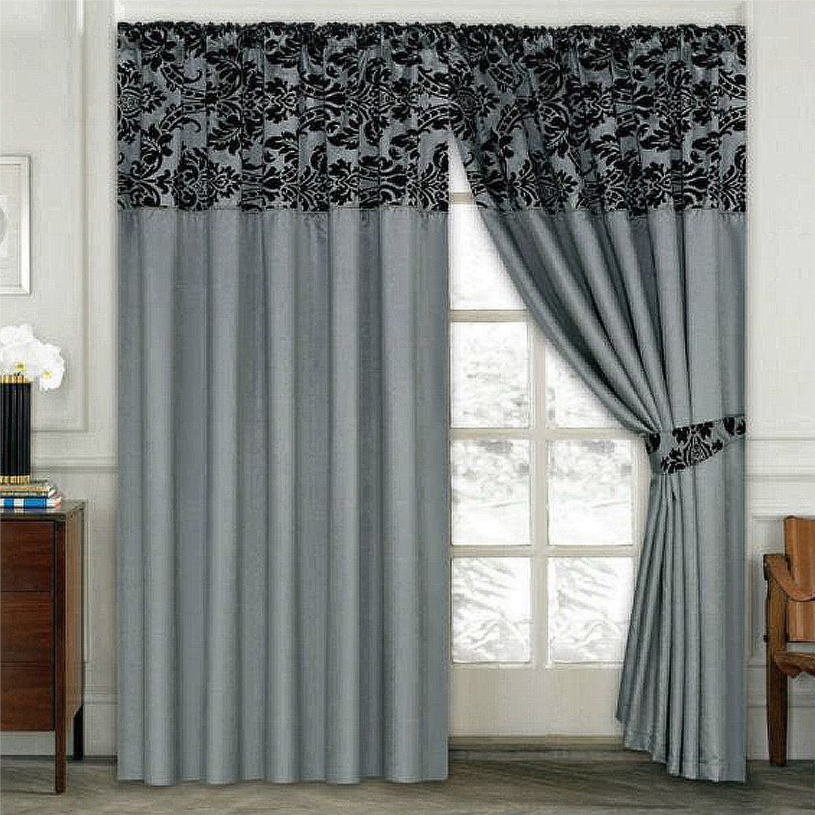 Curtains For Kitchens Large Arched Windows Living Room Window Patio Doors Picture