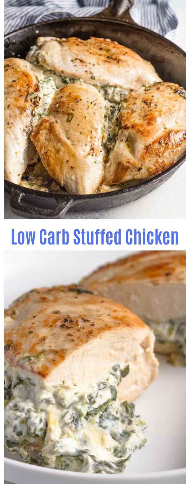 Low Carb Stuffed Chicken