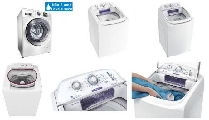Comprar Máquina de Lavar Roupas em Promoção