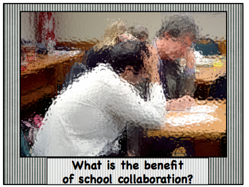 A great read on the benefits of collaboration in your school building with tips and ideas for working in PLCs or with department teams to create cross-curriculum lessons for students. #lessonplans #teaching #highschool #middleschool #collaboration #plc