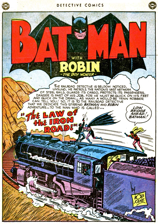 Read online Detective Comics (1937) comic -  Issue #162 - 3