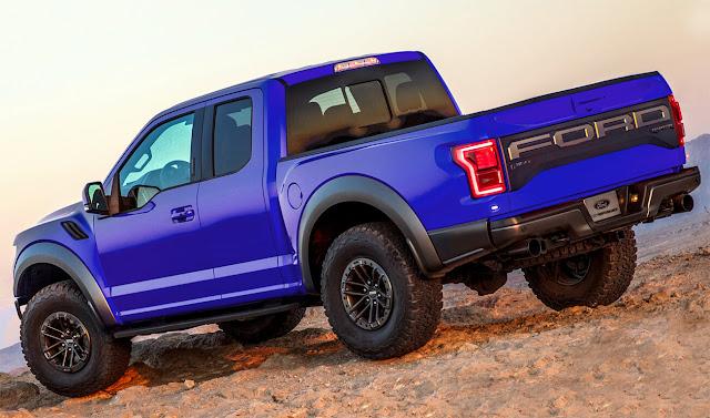 blue-ford-f-150-raptor-wallpaper-rear-view