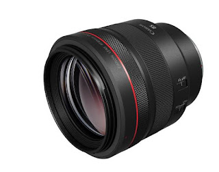 New Canon RF 85mm F1.2 L USM Lens Announced