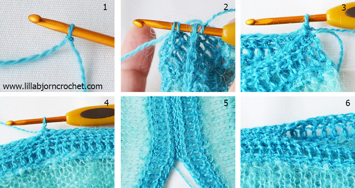 3d1f85215 The sides will be sewn together with mattress stitch (you will work on the  right side. Because my sweater has an ombre effect