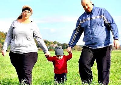 Obesidad no se hereda familia