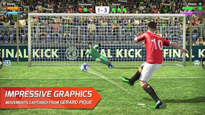 Final kick: Online football v7.5.5 Mod APK3