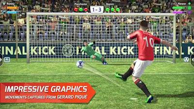Final kick: Online football v7.5.5 Mod APK3