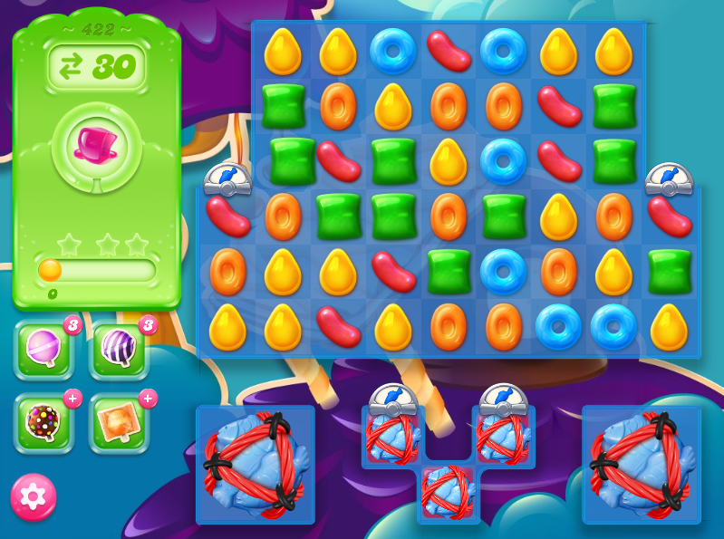 Candy Crush Jelly Saga 422