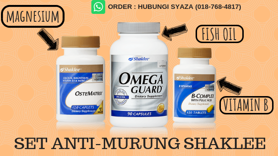 set anti murung shaklee