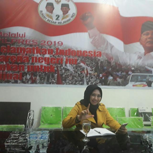 Relawan PADI Lampung Targetkan Minimal 60 % Suara untuk Prabowo-Sandiaga