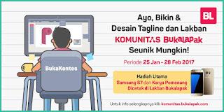 Kontes Desain Lakban Komunitas Buka Lapak Berhadiah Samsung S7
