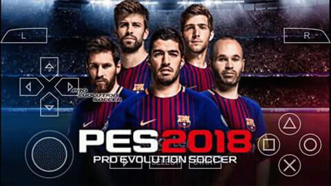 CARA SETTING PES 2018 PPSSPP
